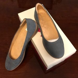 Naturalizer Flexy Blue Fabric Shoes